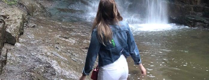 Waterfall in Abanotubani | ჩანჩქერი აბანოთუბანში is one of Lugares favoritos de Наталия.
