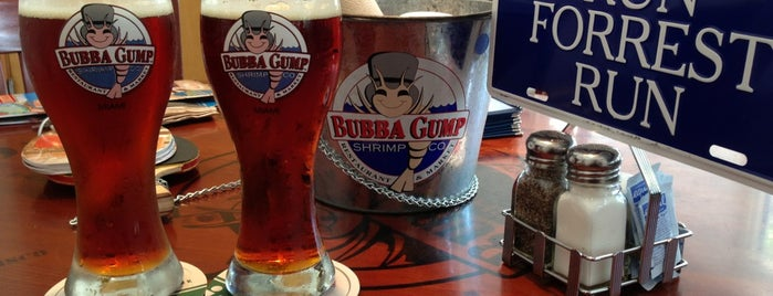 bubba gump is one of Miami.