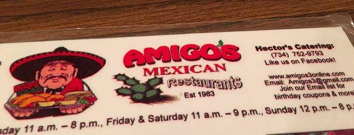 Amigo's Mexican Restaurant is one of Mirinha★ 님이 좋아한 장소.