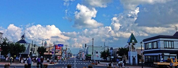 Biei Station (F37) is one of JR 홋카이도역 (JR 北海道地方の駅).