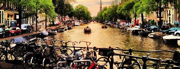 Prinsengracht is one of if you're ever in ____.