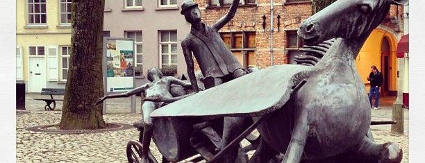 Walplein is one of Bruges.