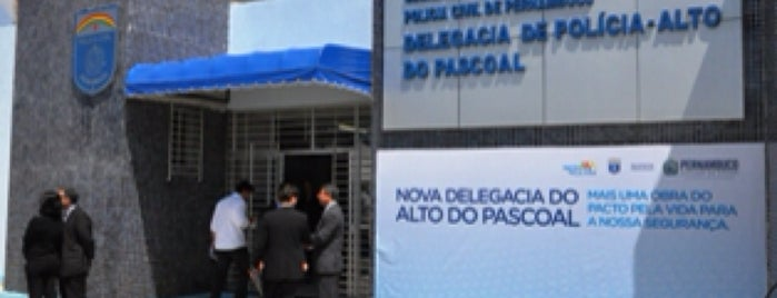 Delegacia de Polícia do Alto do Pascoal is one of Locais curtidos por Luiz.