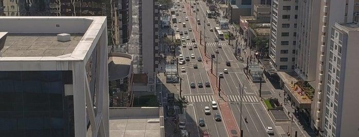 Sesc Avenida Paulista is one of Tempat yang Disukai Jeronimo.