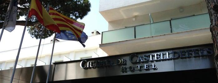 Hotel Ciudad de Castelldefels is one of สถานที่ที่ Gizem ถูกใจ.
