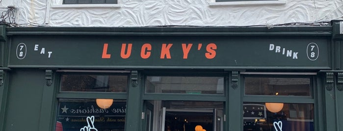 Lucky's is one of Dublin 19/20.