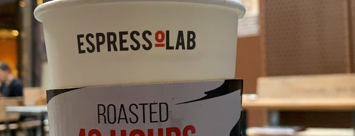 EspressoLab is one of عدوووله قلبييييه اسطنبول.