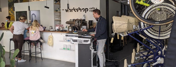 The Workshop Cafe + Cycles is one of Mallorca List.