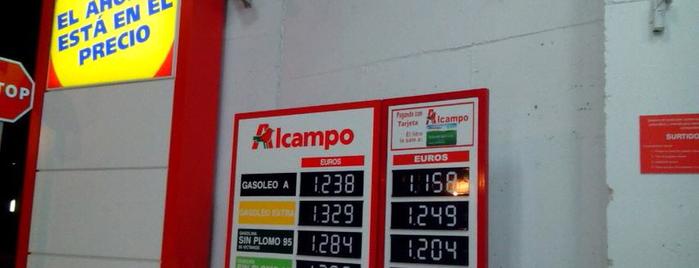 Gasolinera Alcampo Los Enlaces is one of Varios.
