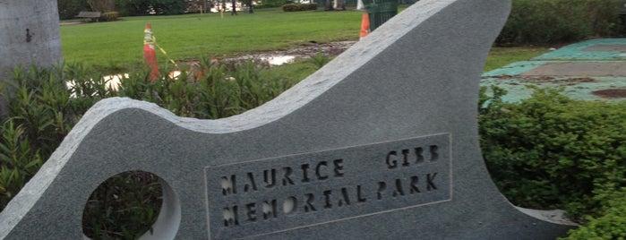 Maurice Gibb Memorial Park is one of Lugares  Especiais.