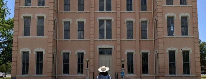 Presidio County Courthouse is one of Marfa, TX.