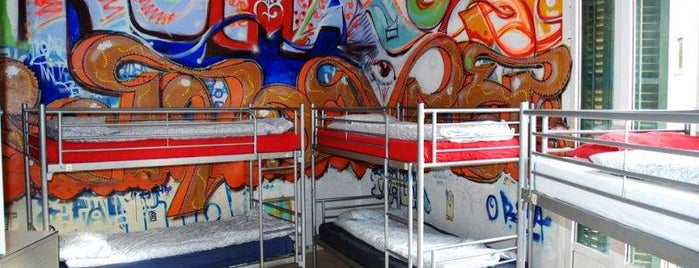 Graffiti Hostel is one of Caótica 님이 좋아한 장소.