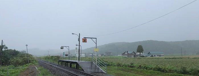 Nisshin Station is one of JR 홋카이도역 (JR 北海道地方の駅).