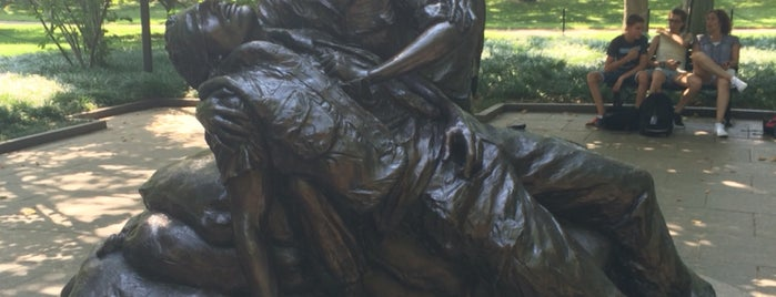 Vietnam Women's Memorial is one of D.C..
