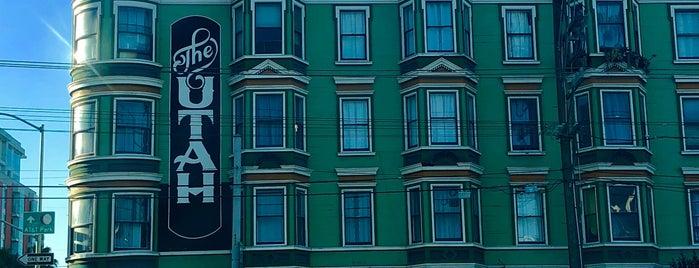 Hotel Utah is one of Music Venues in San Francisco, CA.