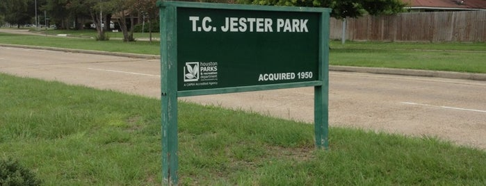 T C Jester Park is one of Houston area - bike trails.
