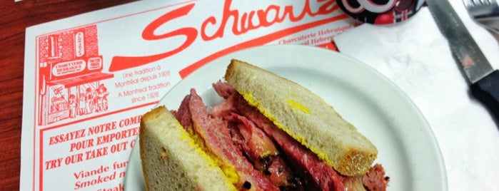 Schwartz's Montreal Hebrew Delicatessen is one of my todos - Dinner.