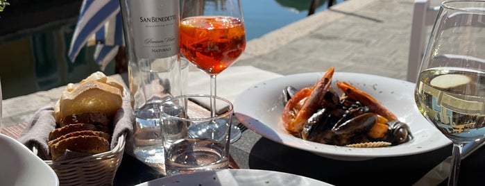 riva rosa, Burano is one of Venice.