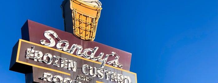 Sandy's Frozen Custard & Root Beer is one of TX: Austin (Dessert).