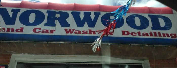 Norwood Car Wash is one of Tempat yang Disukai Samantha.