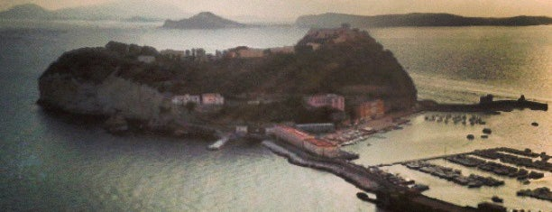 Isola di Nisida - Nisida Island is one of Napoli.