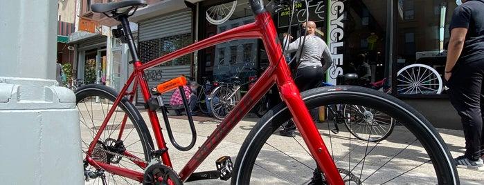 Fulton Bikes, Clinton Hill is one of Kellen's Welcome to Bed-Stuy list.
