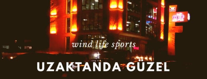 Wind Life Sports Club is one of Tempat yang Disukai s..