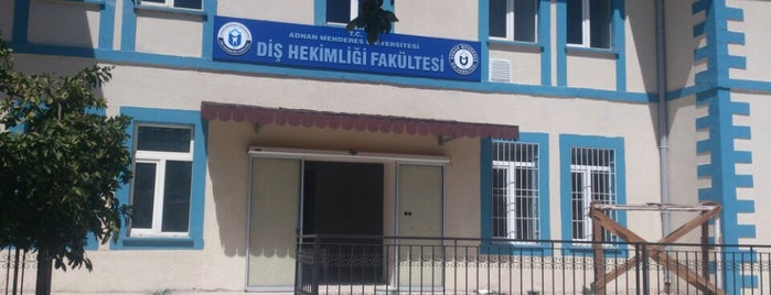 Diş Hekimliği Fakültesi is one of Locais curtidos por ✨💫GöZde💫✨.