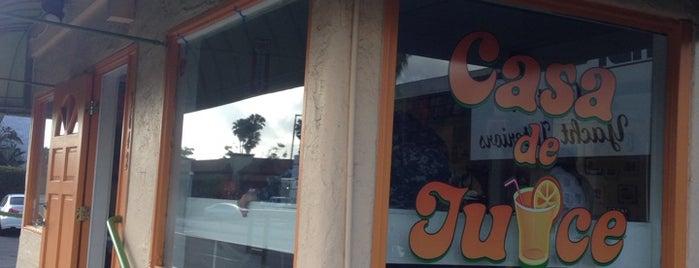 Casa De Juice is one of Veronica : понравившиеся места.