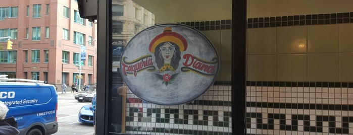 Taqueria Diana is one of WeWork Chelsea Lunch Spots.