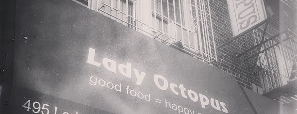 Lady Octopus is one of Places to eat/drink.