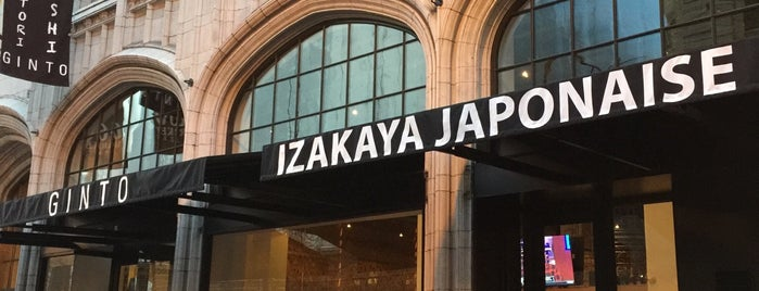 Ginto Izakaya Japonaise is one of Lugares favoritos de Michael.