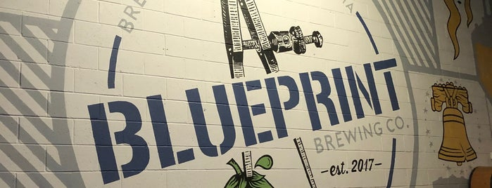 Blueprint Brew Co is one of Posti salvati di Rachel.