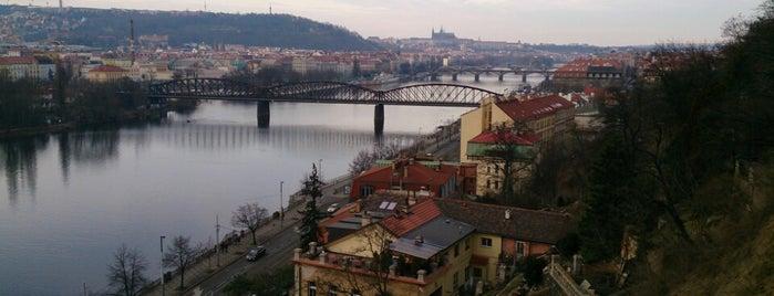 Vyšehrad is one of Nejlepší výhledy v Praze.