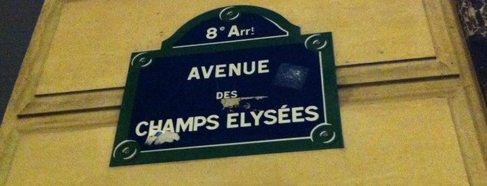 Avenue des Champs-Élysées is one of Les étapes du Tour de France 2013.