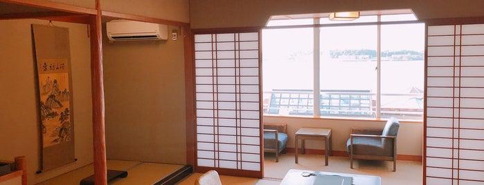 片山津温泉 加賀観光ホテル is one of 宿、旅館、ホテル.