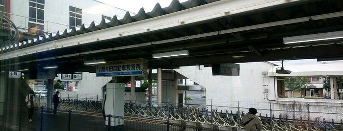Mamada Station is one of JR 키타칸토지방역 (JR 北関東地方の駅).