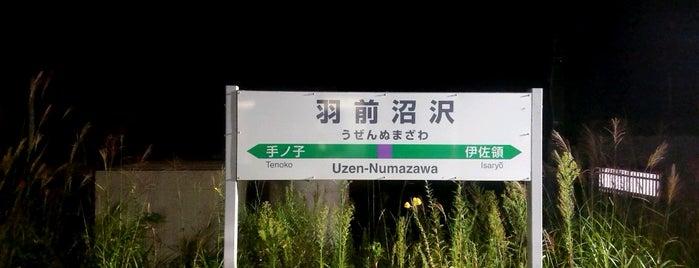 羽前沼沢駅 is one of JR 미나미토호쿠지방역 (JR 南東北地方の駅).