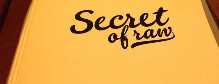 Secret of Raw is one of Prague.