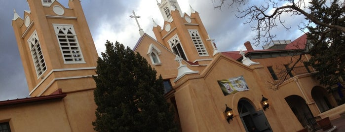 San Felipe De Neri Catholic Church is one of Historic Route 66.