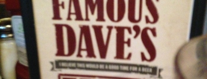 Famous Dave's is one of centereach.