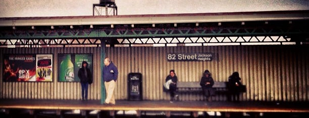 MTA Subway - 82nd St/Jackson Heights (7) is one of My beloved hood!.