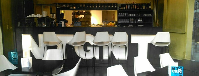 NTGent café is one of Lieux sauvegardés par Henri.