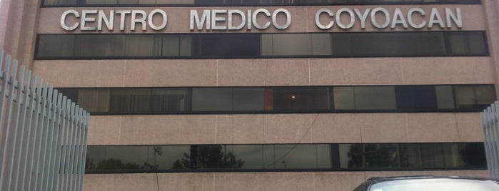 Centro Medico Coyoacan is one of Posti che sono piaciuti a Francisco.