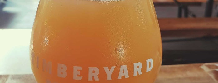 Timberyard Brewing Company is one of Breweries.