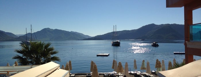 Örsmaris Boutique Hotel Marmaris is one of Mennanさんのお気に入りスポット.