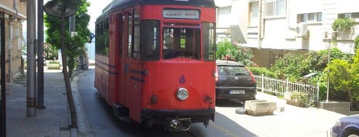 Kadıköy - Moda Tramvayı (T3) is one of İstanbul'daki Raylı Hatlar.