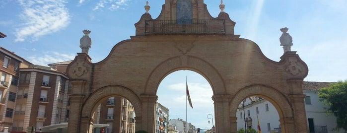 Puerta de Estepa is one of Que visitar en Antequera.