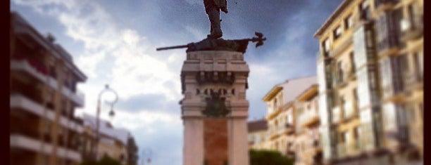 Monumento al Capitán Moreno is one of Que visitar en Antequera.