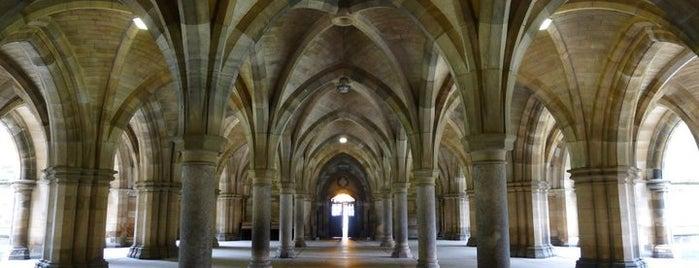 University of Glasgow is one of Orte, die Gbenga gefallen.